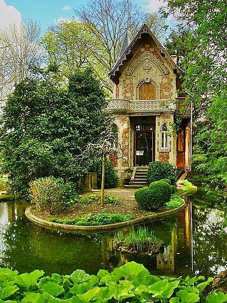 Alexandre Dumas hideaway on grounds of Monte Cristo Castle Marly le Roi France