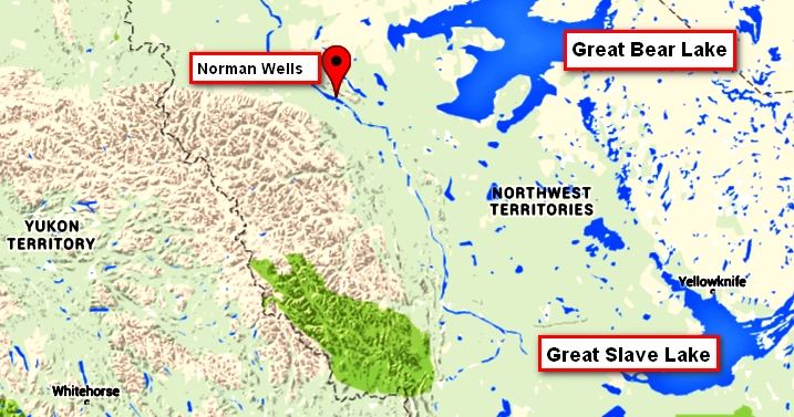 200billion barrels sahtu region nwt ca near norman wells text