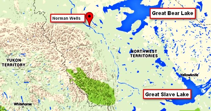 200billion barrels sahtu region nwt ca near norman wells text